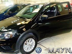 Volkswagen Saveiro Cabina Extendida 2017 Vw 0km Negra