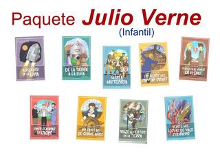 Paquete Julio Verne Libros Clásicos Para Niños Mayoreo