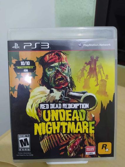 Red Dead Redemption Undead Nightmare Ps3 Usado Original