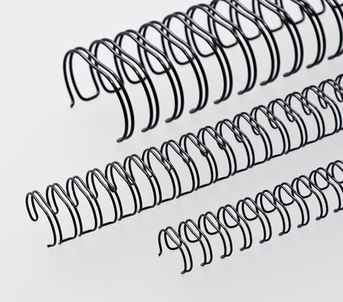 Espiral Garra Duplo Anel Wire-o 2x1 A4 5/8 130fls 50un Preto