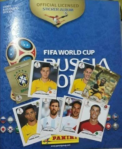 300 Figurinhas Copa Rússia 2018 Não Repetidas A Sua Escolha.