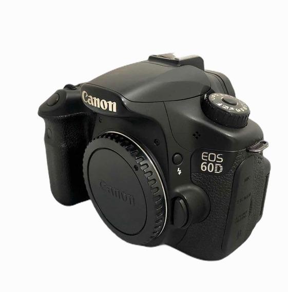 Câmera Cânon 60d Corpo Seminova 57,450cliques Impecável