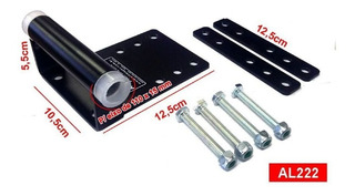 Transbike Mini Rack Booster Eixo 15mm X 110mm