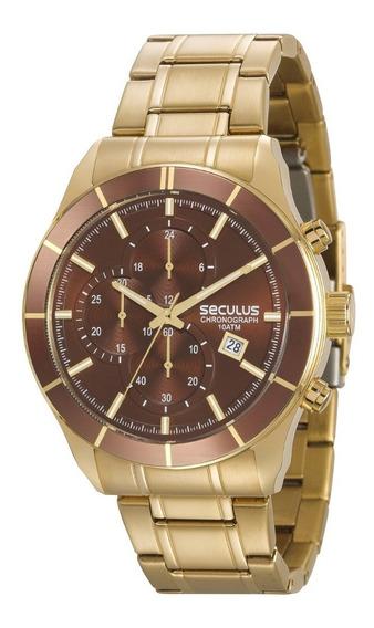 Relógio Seculus Masculino 23600gpsvda2