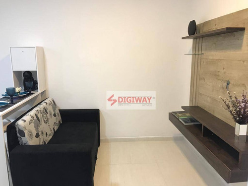 Studio Novo, Mobiliado, 1 Dormitório Para Alugar Por R$ 1.800/mês - Ipiranga - São Paulo/sp - St0038