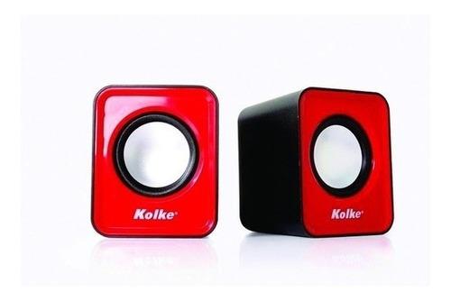 Parlante Kolke Kp-118 Rojo Mini Plug
