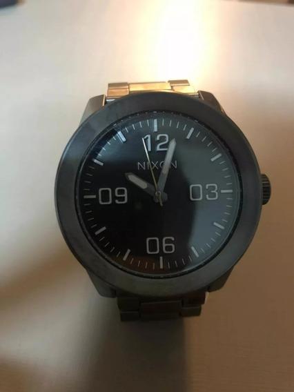 Relógio Nixon Corporal Ss Original