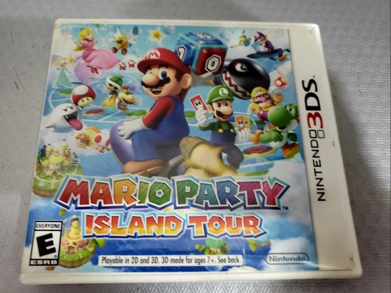 Mario Party Island Tour Para Nintendo 3ds E 2ds