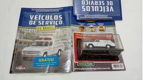 Veraneio Ambulância Miniatura Chevrolet 1/43 + Fascículo