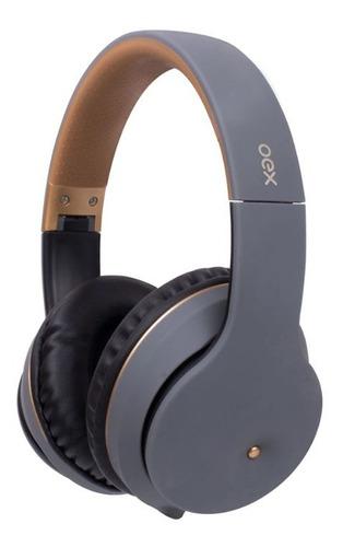 Fone De Ouvido Bluetooth Oex Spot Hs313 - Chumbo