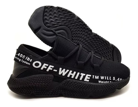 Tenis Masculino Off White Destaque Black Fridday Barato