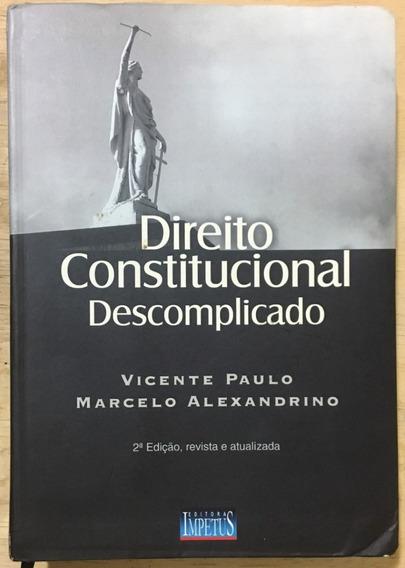 Livro Direito Constitucional Descomplicado - 2ª Edição