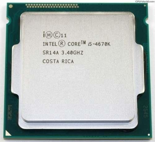 Processador Intel Core I5 4670k Lga 1150