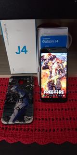 Samsung Galaxy J4 32gb Tela 6.polegada Android 8.0 4g 13mp