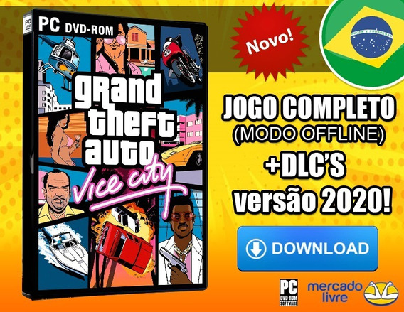 Grand Theft Auto - Vice City Pc - Português-br Envio Digital