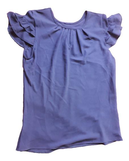 Blusa Femina Crepe Moda Verão Vários Modelos