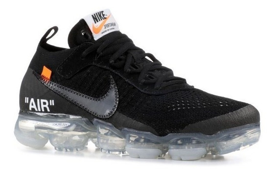 Tenis Nike Vapormax Off-white 2.0 Black Ds 41 Yeezy Hype