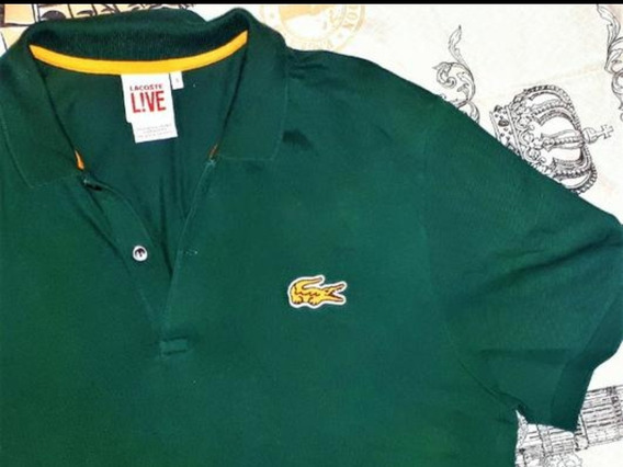 Camisa Polo Lacoste Live Classic Fit Exclusivo
