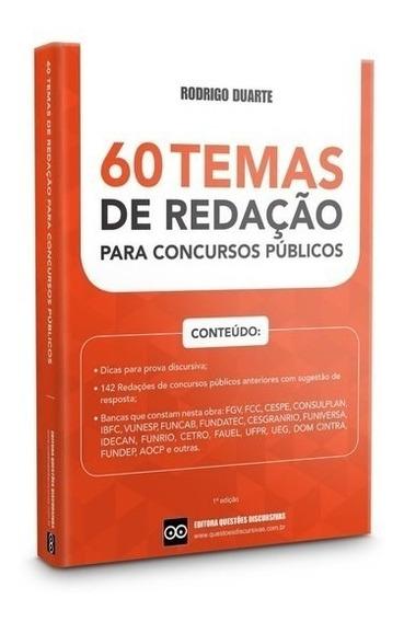 60 Temas De Redação Para Concursos Públicos Com Respostas
