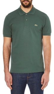 Lacoste Camisa Polo Masculina L.12.12 - Verde Musgo