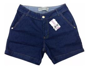 Bermuda Jeans Feminina Com Lycra Roupas Femininas