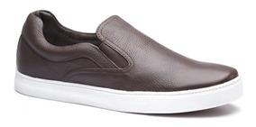 Tênis Iate Masculino Keep Shoes Cor Café