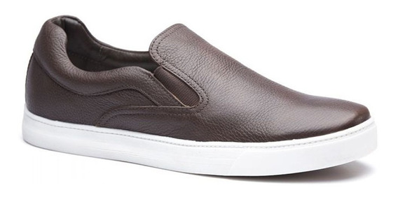 Tênis Iate Masculino Keep Shoes Cor Café