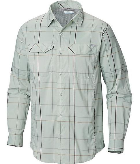 Exclusiva Camisa Columbia Silver Ridge 4xlt Cool Green