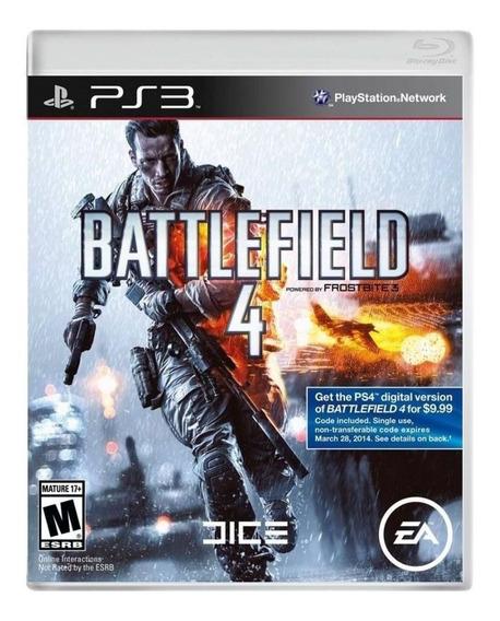 Jogo Battlefield 4 Ps3 Usado