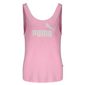 Regata Puma Essentials Tank Feminina Rosa