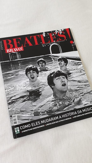The Beatles Bravo Revista Para Colecionadores