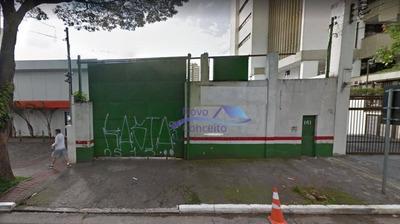Terreno Para Alugar, 480 M² Por R$ 15.000/mês - Jardim Anália Franco - São Paulo/sp - Te0017