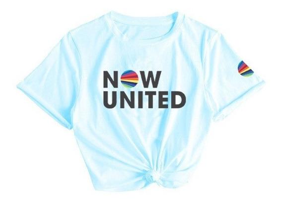Camiseta Now United Camisa Top Lançamento Tumblr 2020