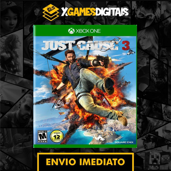 Just Cause 3 Xbox One Midia Digital + 1 Jogo Brinde