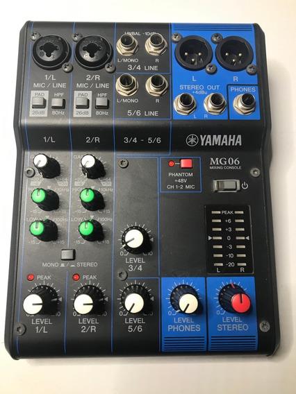 Mesa De Som Yamaha Mg06