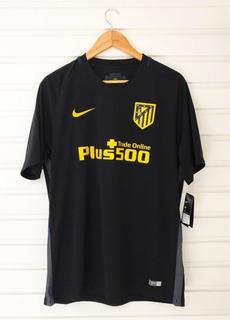 Camisa Atletico Madrid Away Preta 2016-17 - @timesdomundofc