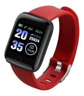 Relógio Smartwatch Inteligente Preto D13 Envio Imediato