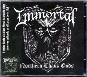 Cd Immortal - Northern Chaos Gods 2018 Lacrado Frete Gratis