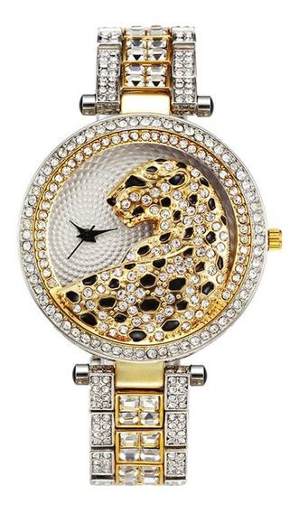 Mulheres Relógio De Quartzo Senhoras Relógio Cristal Diamant