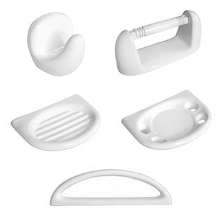 Accesorios Set Kit Baño 5 Pzs Daccord Sena Loza Ceramica