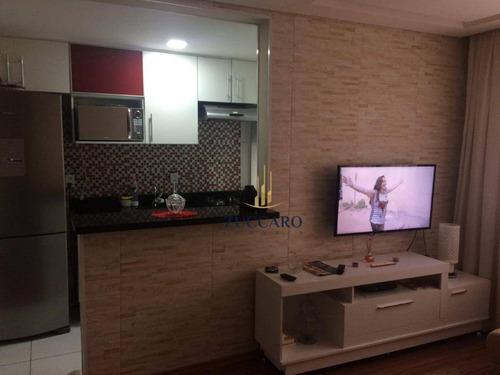 Apartamento Com 2 Dormitórios À Venda, 45 M² Por R$ 240.000,00 - Jardim Adriana - Guarulhos/sp - Ap15530
