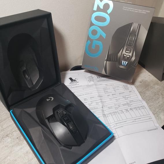 Mouse Logitech G903 Sem Fio.
