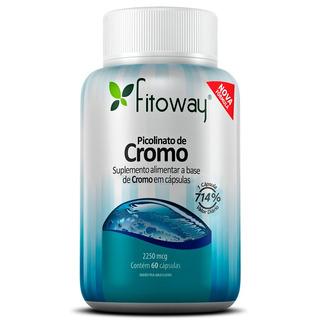 Picolinato De Cromo 2250mg Fitoway - 60 Cápsulas