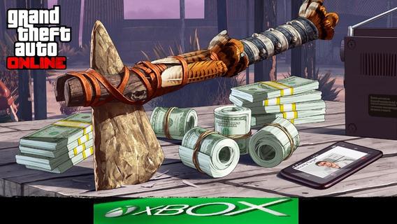 Gta V - Up - Xbox One- 7 Milhoes Por....