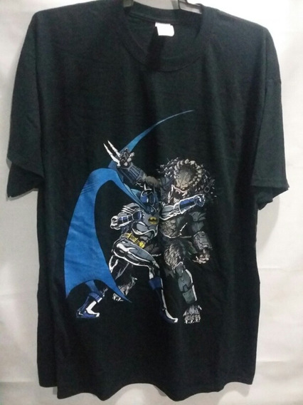 Playera Batman Vs Predator Dc Comics