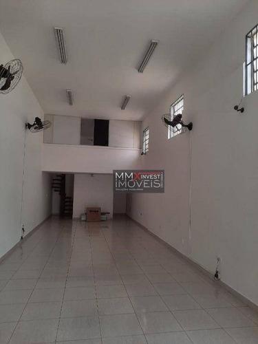 Imagem 1 de 2 de Galpão Para Alugar, 200 M² Por R$ 4.200,00 - Vila Cláudia - São Paulo/sp - Ga0105