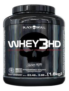 Whey 3hd Caveira Preta (1,8kg) - Black Skull