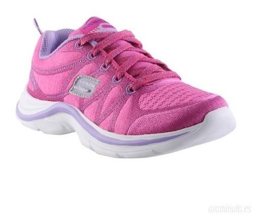 Zapato Deportivo Skechers Talla 2.5 Usa 34 Vzla