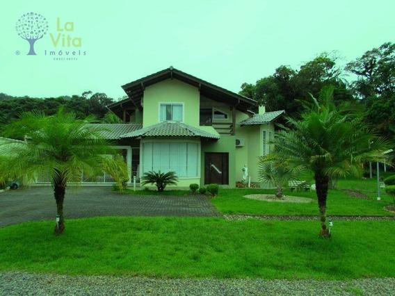 Casa Residencial Para Locação, Progresso, Blumenau. - Ca0193