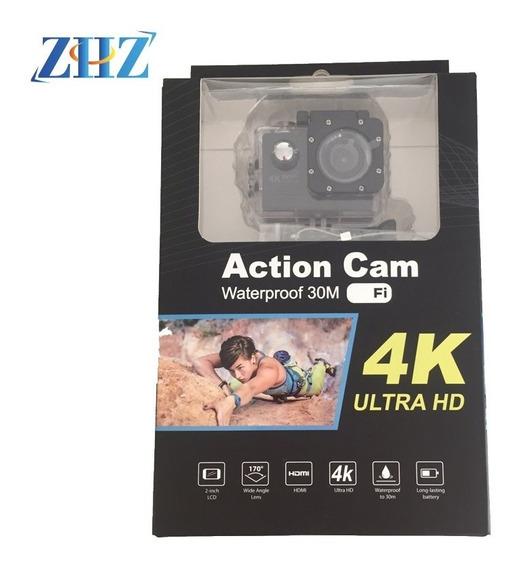Kit 2 Action Cam Go Sports Pro Ful Hd 1080p 4k Wifi Pronta E